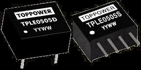 DC-DC в стандартных корпусах SIP и DIP серии TPLE