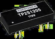 DC-DC преобразователи в стандартных корпусах SIP и DIP серии TP2S