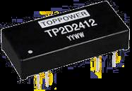 DC-DC в стандартных корпусах SIP и DIP серии TP2D