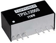 DC-DC в стандартных корпусах SIP и DIP серии TP2L