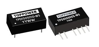 DC-DC в стандартных корпусах SIP и DIP серии TPD-W5
