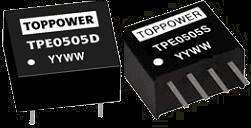 DC-DC в стандартных корпусах SIP и DIP серии TPE
