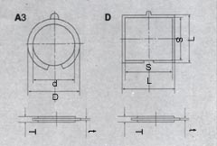 Размеры пьезоэлемента