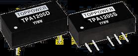DC-DC в стандартных корпусах SIP и DIP серии TPA