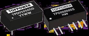 DC-DC в стандартных корпусах SIP и DIP серии TPD