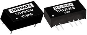 DC-DC в стандартных корпусах SIP и DIP серии TPH