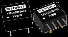 DC-DC в стандартных корпусах SIP и DIP серии TPLE-W5
