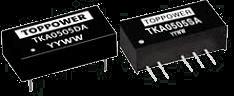 DC-DC в стандартных корпусах SIP и DIP серии TKA-A