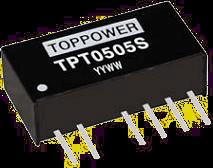 DC-DC преобразователи в стандартных корпусах SIP и DIP серии TPT